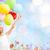 menina · feliz · papoula · campo · crianças · infância - foto stock © dolgachov