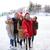 felice · amici · smartphone · persone - foto d'archivio © dolgachov