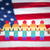 рук · люди · пиктограммы · американский · флаг · сообщество · блок - Сток-фото © dolgachov