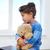 tek · başına · oyuncak · ayı · küçük · çocuk · yalıtılmış · beyaz - stok fotoğraf © dolgachov