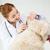 lekarz · weterynarii · ucha · labrador · kobiet · weterynarz - zdjęcia stock © dolgachov