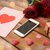 kaart · verjaardag · felicitatie · valentijnsdag · harten · knoopsgat - stockfoto © dolgachov