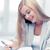 üzletasszony · vállalkozó · jegyzetel · beszél · mobiltelefon · sikeres - stock fotó © dolgachov