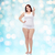 プラスサイズ · 女性 · 下着 · ジェスチャー - ストックフォト © dolgachov