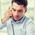 怒っ · ビジネスマン · 呼び出し · 電話 · オフィス · ビジネスの方々 - ストックフォト © dolgachov