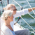 happy senior couple on sail boat or yacht in sea stock photo © dolgachov
