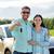 happy man and woman with car key hugging stock photo © dolgachov