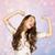 rire · fille · rose · joli · cheveux · noirs · femme - photo stock © dolgachov