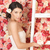 trouwjurk · bruid · houten · muur · vrouw · muziek - stockfoto © dolgachov