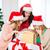 nők · mikulás · segítő · sapkák · sok · ajándékdobozok - stock fotó © dolgachov