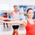 grup · zâmbitor · oameni · sală · de · gimnastică · fitness - imagine de stoc © dolgachov