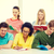 Öğrenciler · yazı · sınav · ders · eğitim - stok fotoğraf © dolgachov