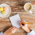 kávészünet · sütik · recept · notebook · kávéscsésze · felső - stock fotó © dolgachov
