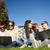 estudiantes · adolescentes · portátil · computadoras · verano · comunicación - foto stock © dolgachov