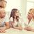rodziców · dwa · dziewcząt · piętrze · domu · rodziny - zdjęcia stock © dolgachov