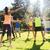 счастливым · спортивный · прыжки · вместе · человека - Сток-фото © dolgachov