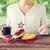 mujer · americano · día · celebración · vacaciones - foto stock © dolgachov
