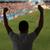 hombre · viendo · fútbol · partido · de · fútbol · estadio · ocio - foto stock © dolgachov