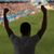 man watching soccer of football game on stadium stock photo © dolgachov
