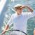 volante · iate · azul · mar · água · oceano - foto stock © dolgachov