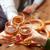 üveg · sör · kéz · férfi · tart · sötét - stock fotó © dolgachov