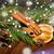 karácsony · fenyő · ág · fahéj · aszalt · narancs - stock fotó © dolgachov