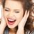 güzel · kadın · kulaklar · çekici · genç · kadın - stok fotoğraf © dolgachov