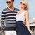 魅力的な · 新婚旅行 · 長い · ビーチ - ストックフォト © dolgachov