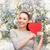 アジア · 女性 · 桜 · ツリー · 頭 · 肩 - ストックフォト © dolgachov