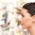 ゴージャス · 若い女性 · 髪 · 肖像 · 顔 - ストックフォト © dolgachov