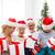 familia · feliz · ayudante · cajas · de · regalo · Navidad - foto stock © dolgachov