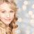 twarz · piękna · młodych · szczęśliwy · kobieta · długie · włosy - zdjęcia stock © dolgachov