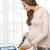 feliz · mulher · grávida · cozinhar · comida · gravidez - foto stock © dolgachov