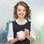 девочку · Piggy · Bank · монеты · фотография · девушки · очки - Сток-фото © dolgachov