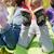 enfants · couverture · de · pique-nique · peu · séance · automne · parc - photo stock © dolgachov