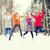 прыжки · лес · человека · природы · весело - Сток-фото © dolgachov
