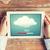felhő · kezek · számítógép · kéz · szerver · háló - stock fotó © dolgachov
