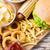 tintahal · sültkrumpli · kockás · papír · étel · konyha - stock fotó © dolgachov