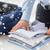 üzletember · csomagol · ruházat · utazás · táska · üzleti · út - stock fotó © dolgachov