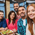 friends taking selfie by smartphone at restaurant stock photo © dolgachov