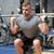 若い男 · 筋肉 · バーベル · ジム · スポーツ · ボディービル - ストックフォト © dolgachov