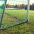 close up of football goal on field stock photo © dolgachov