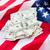 американский · флаг · деньги · бюджет · Финансы · кризис - Сток-фото © dolgachov