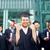 happy student with diploma celebrating graduation stock photo © dolgachov