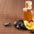 masaje · piedras · orquídeas · tratamiento · de · spa · blanco · aerosol - foto stock © dolgachov
