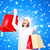 jonge · vrouw · winter · kleding · vakantie · christmas - stockfoto © dolgachov
