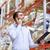 gerente · almacén · portapapeles · empresario · cuadro · hombres - foto stock © dolgachov