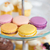 torta · macaron · édesség · kávé · kő · háttér - stock fotó © dolgachov