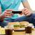 Burger · картофель · фри · продовольствие · жира · стейк - Сток-фото © dolgachov