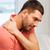 infeliz · homem · sofrimento · pessoas · saúde - foto stock © dolgachov